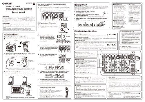 yamaha stagepas 500 portable pa system manual