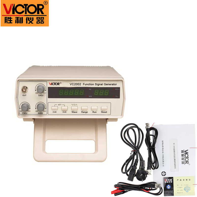 victor vc2002 function signal generator manual