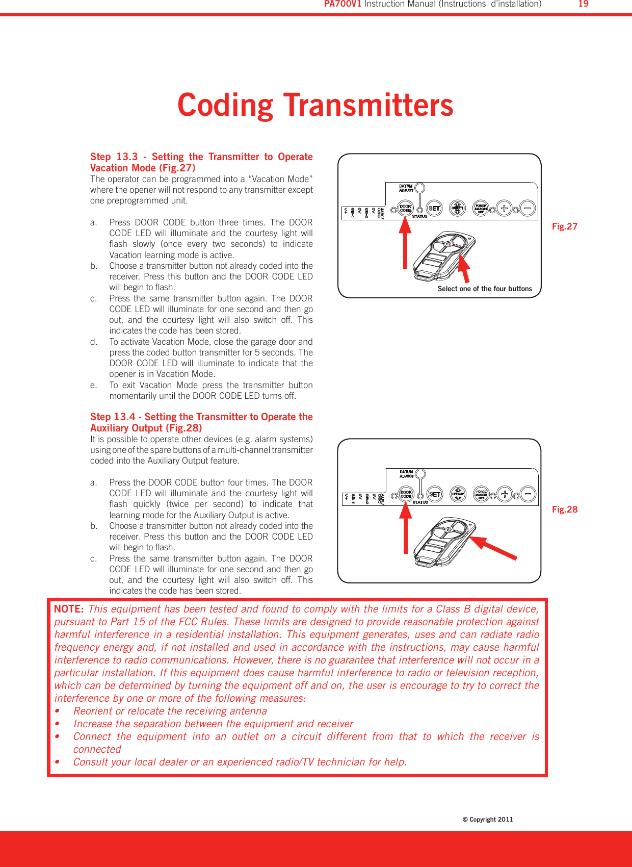 md30614 aus-a user manual