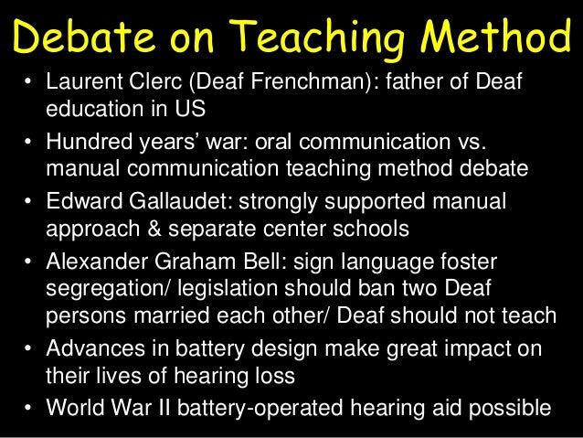 manual method total communication edinborough history