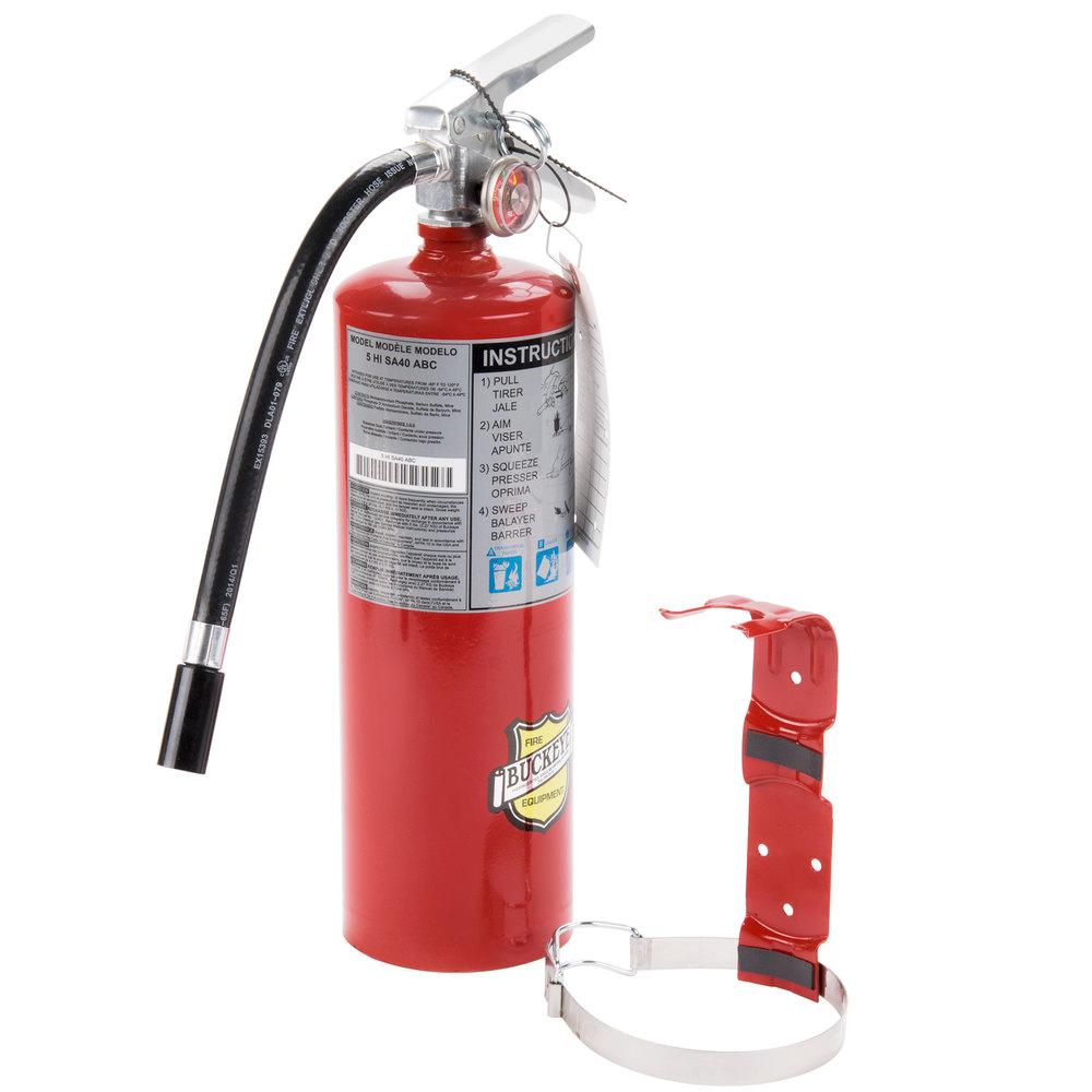 buckeye fire extinguisher service manual