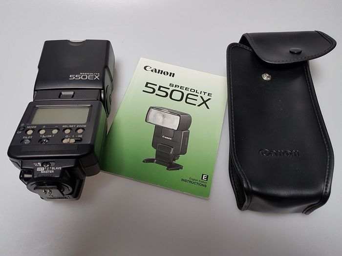 canon speedlite 550ex flash manual