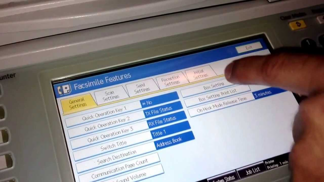 set printer auto scan 2 page not manual