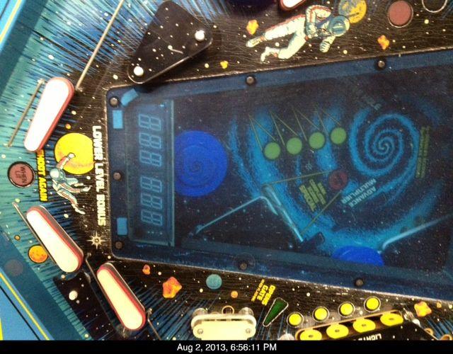 black hole arcade game manual
