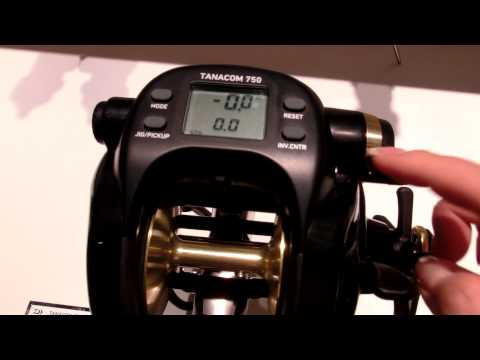 daiwa tanacom bull 750 electric reel manual