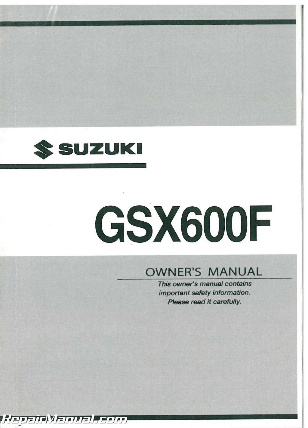 2003 suzuki lt50 owners manual