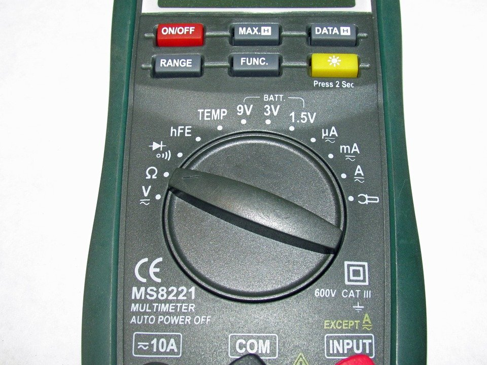 commercial electric hdm350 multimeter manual