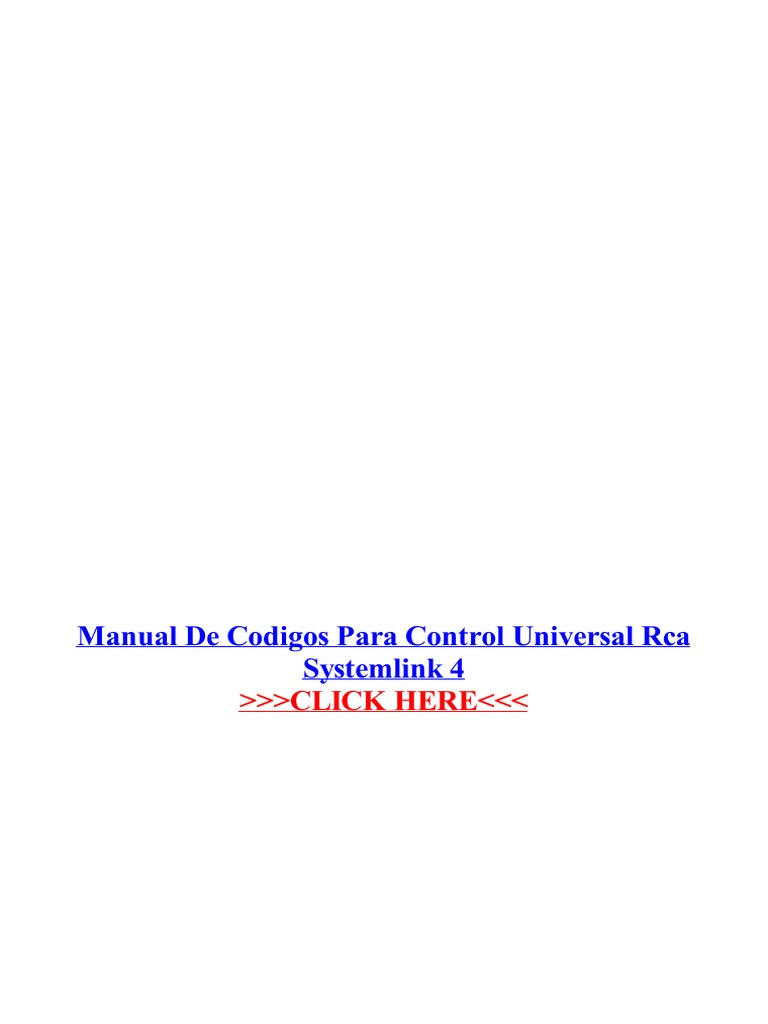 rca systemlink 4 manual pdf