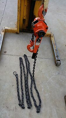 3 4 ton lever manual chain hoist