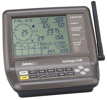 davis weather station manual vantage vue