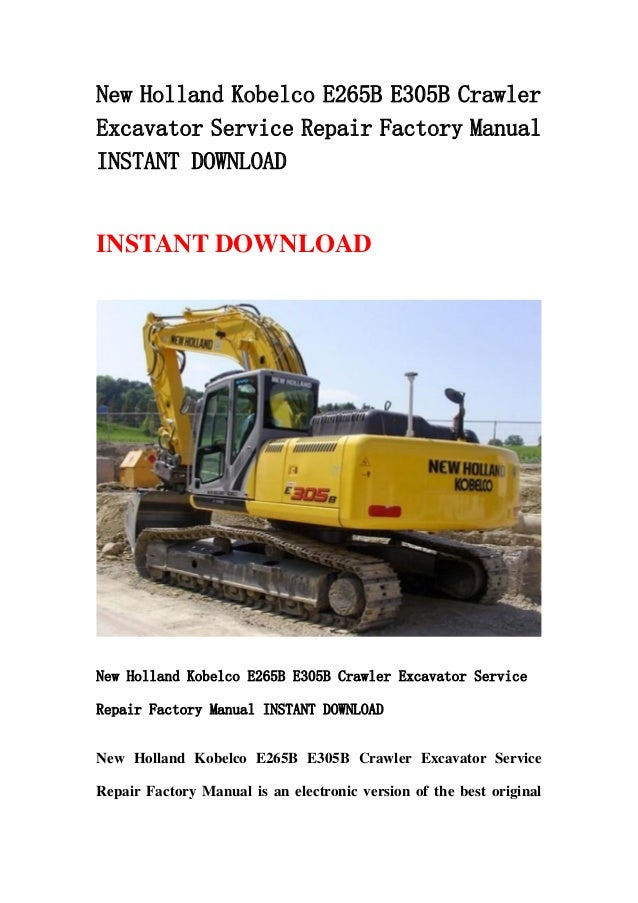 new holland l170 repair manual