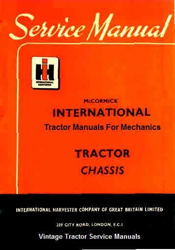 international harvester 444 service manual