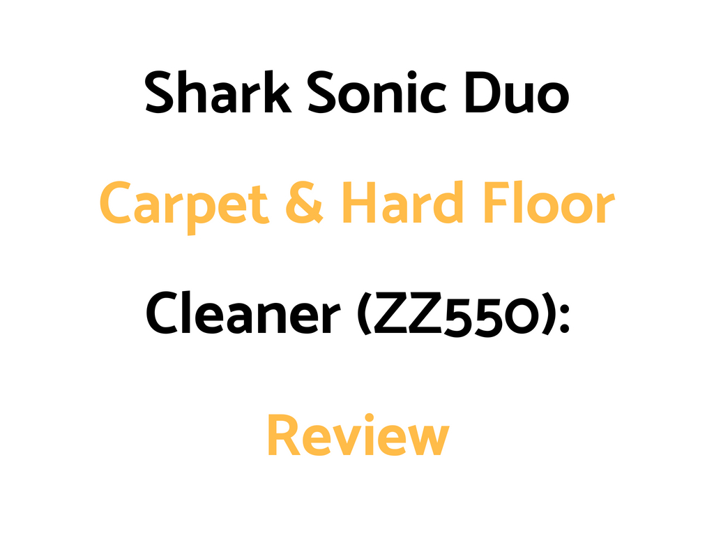 shark sonic duo pro manual