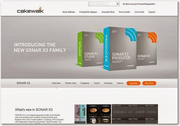 cakewalk sonar x2 essential manual