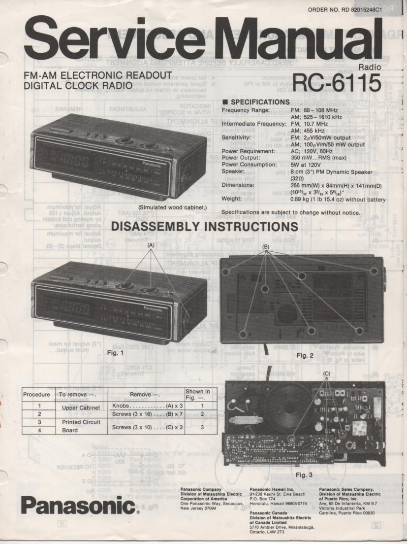 panasonic pt-lm1 service manual
