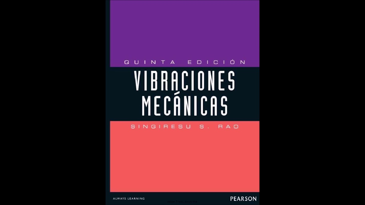 rao ss 2011 mechanical vibrations 5th edition solution manual