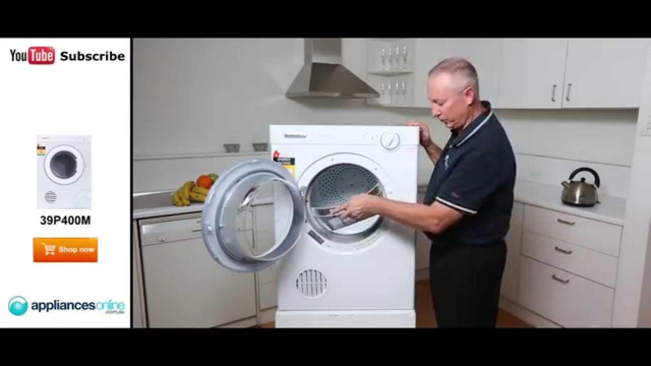 simpson 4kg dryer ezi loader manual mounting